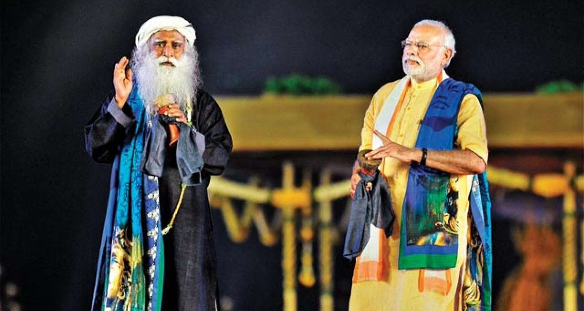 Sadhguru: No Bombings In Modi Era. Fact: 400 Plus In 2016 Alone, Official Data Show